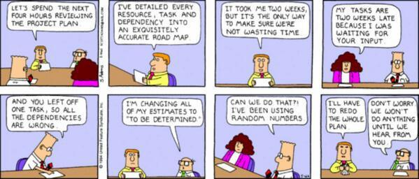 dilbert project plan